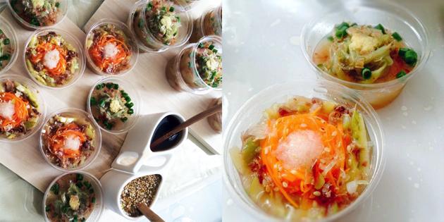 冬瓜でいただく2種の野菜麺〜夏野菜達の共演〜