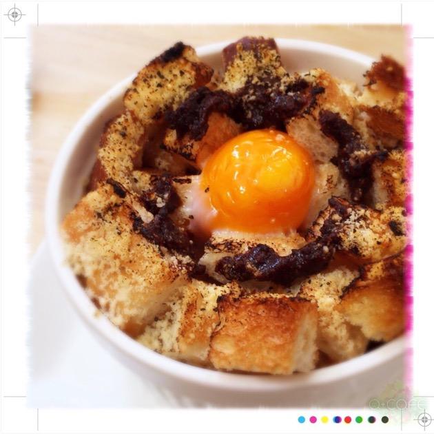 和風グリーンオニオングラタンスープ【ある日のカフェ飯:026】