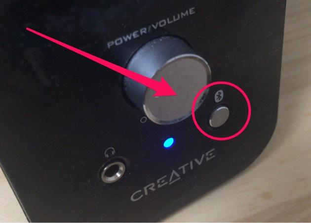 Bluetoothボタン