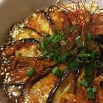 小茄子達の麻婆競演麺【ある日のカフェ飯:033】