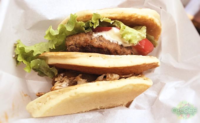 パンケーキハンバーガー