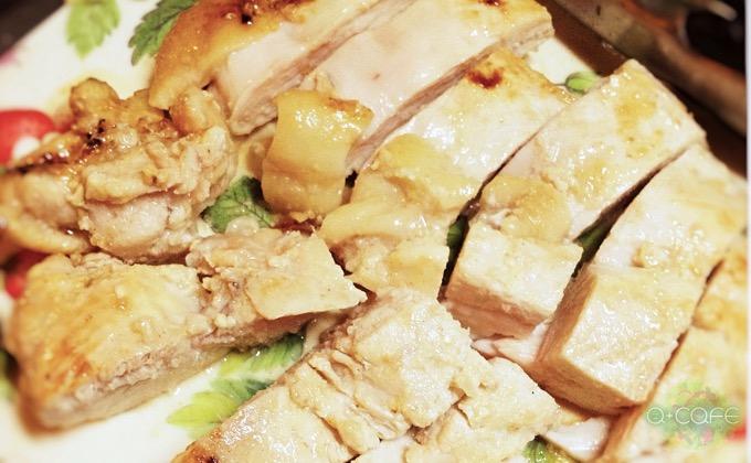 焼き上がった鶏肉