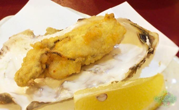 牡蠣天ぷら