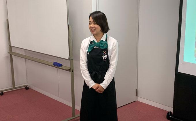 野菜ソムリエの山崎さん